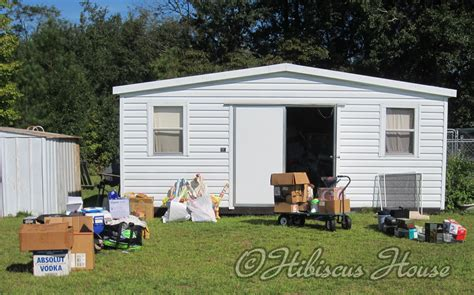 Shed Means hibiscus house hoarding i quot collecting quot shed