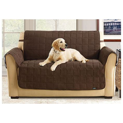 waterproof pet couch covers sure fit waterproof pet cover 294610 furniture covers