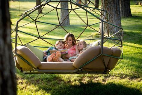 kodama zome hanging seat by kodama zomes 187 retail design blog