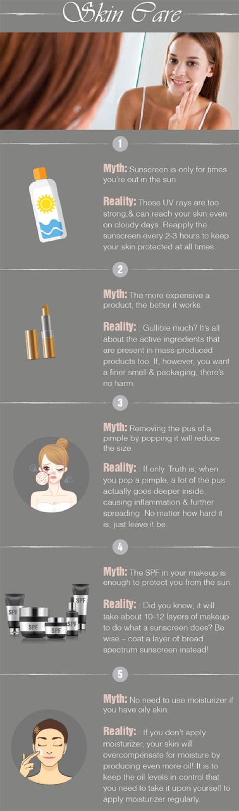 5 Hair Care Myths Did You That by Skin Care In Summer Myths And Facts