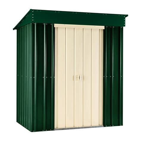 6ft X 3ft Shed by Lotus 6ft X 3ft Pent Roof Shed In Heritage Green And Next Day Delivery Lotus 6ft X 3ft