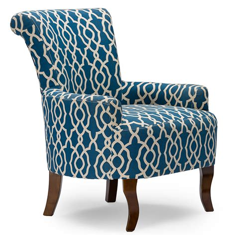 patterned armchair baxton studio dixie contemporary fabric armchair navy