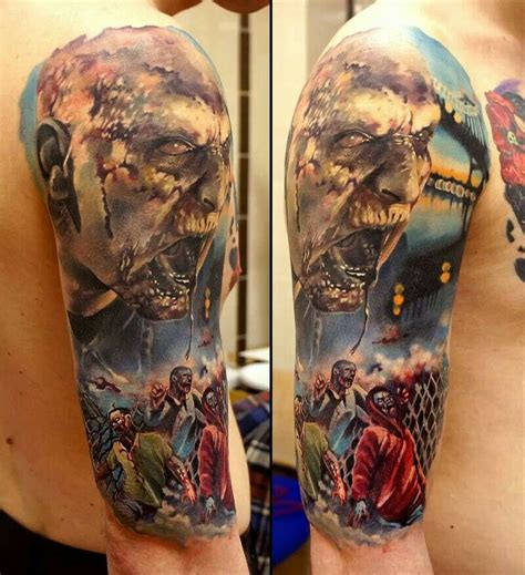 tattoo ideas zombie 48 best ideas images on