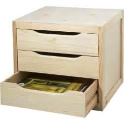 bloc tiroir pin l 39 x p 30 x h 29 5 cm leroy merlin