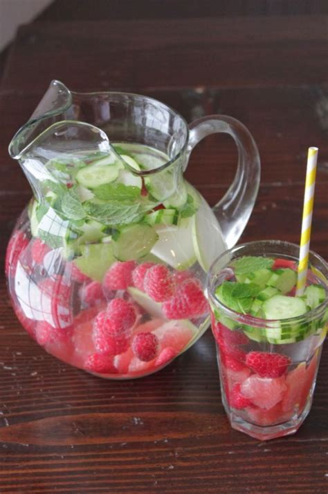 Best Food For Detoxing In The New Year by 20 Delicious Detox Waters To Cleanse Your And Burn
