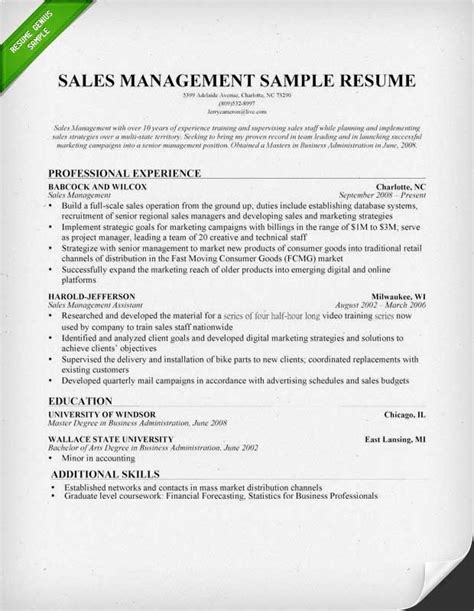 Resume Sles On Word resume words for sales best resume gallery