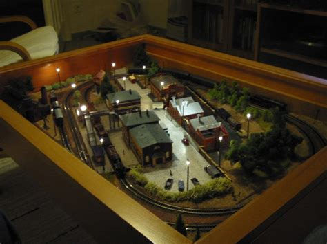A Train In Your Coffee Table Ikea Hackers Coffee Table Model Railroad