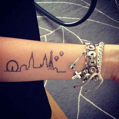 london tattoos 20 magnificent skyline tattoos