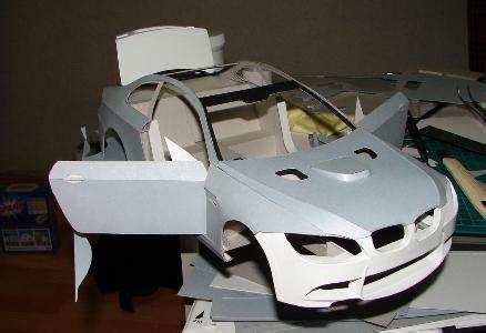 bmw 520 papercraft museum