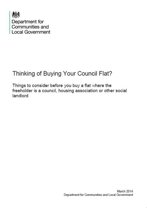 buying my council house discount right to buy thinking of buying your council flat