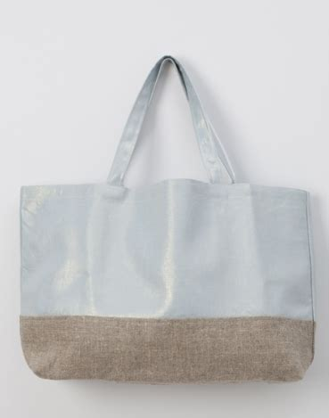 willow pattern gifts color block linen marche tote ice blue gift ideas