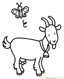 goat coloring pages coloring pages goat coloring page 03 animals gt goat
