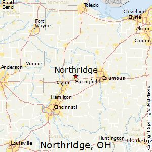california map northridge best places to live in northridge ohio