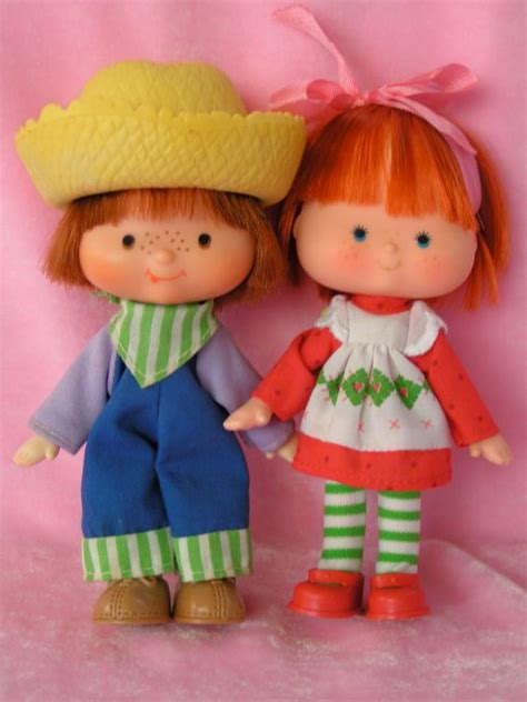 strawberry shortcake 6 fashion doll with pet vintage strawberry shortcake and huckleberry pie dolls and