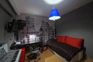 Lighting in a musical studio
