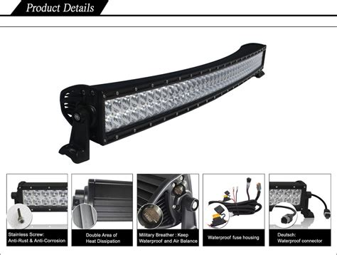 Black Oak Led 50 Inch Double Row Curved Led Light Bar Review 50in Curved Led Light Bar