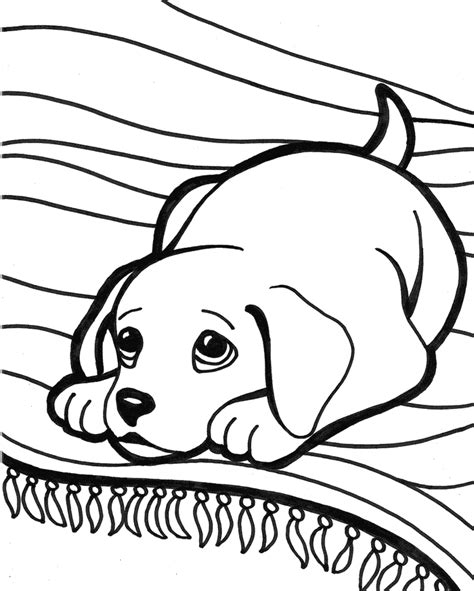 cute coloring pages of puppies cute puppy coloring pages coloring home