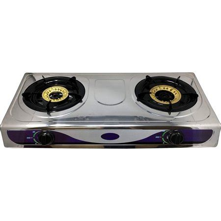 Outdoor Cooktop Propane by Burner Stove Outdoor Indoor Tempered Glass Gas