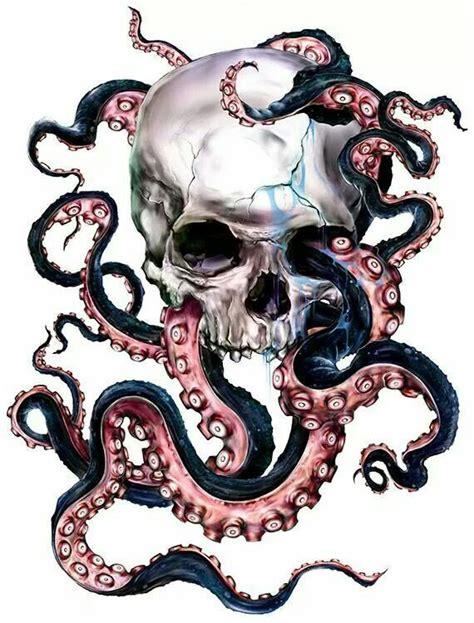 pinterest tattoo octopus skull and octopus tattoo inks anonymous pinterest