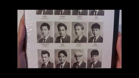 Exo Xoxo Edition Exo 014 exo xoxo hug version exo m album cd unboxing 2 posters