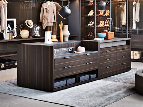 island with drawers for closet gliss master island walk in closets molteni