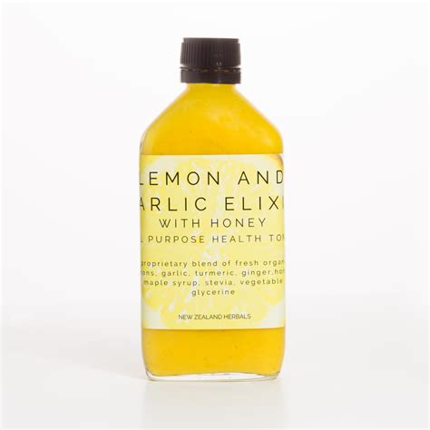 Lemon Detox Nz by Lemon And Garlic Elixir Nz Herbals