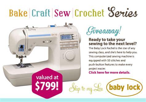 Sewing Machine Giveaway 2014 - sewing machine giveaway skip to my lou