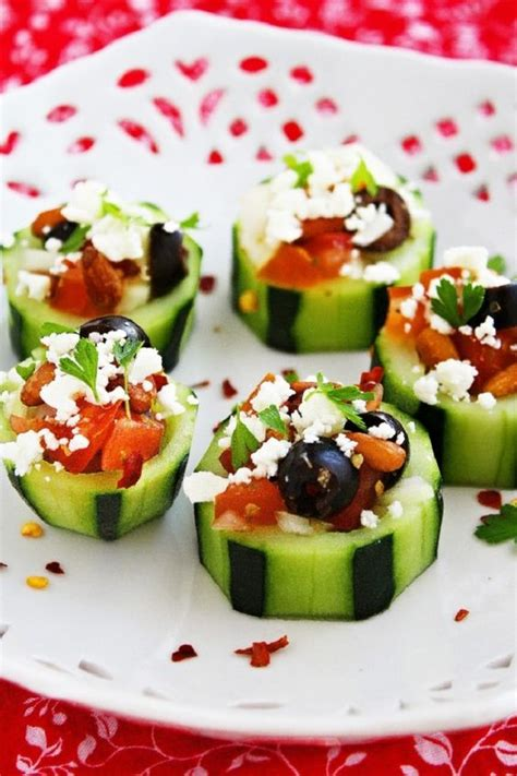 great bridal shower recipes cucumber cups bridal shower appetizers and shower