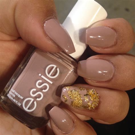 short coffin nails nail art pinterest coffin nails short coffin nails with a natural look essie s quot ladylike