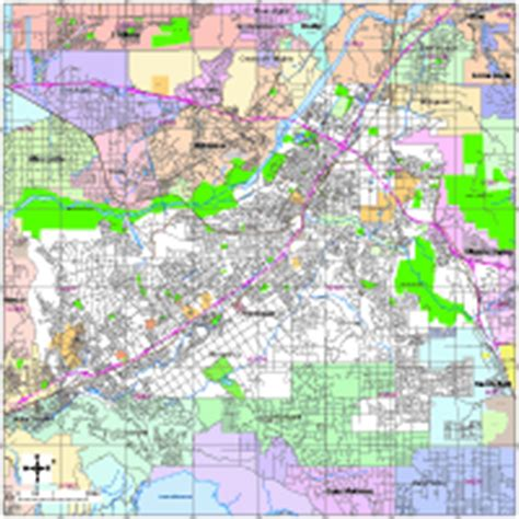 zip code map riverside county editable riverside ca city map with roads highways zip