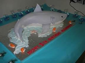 awesome 3d shark cake cake for kids pinterest