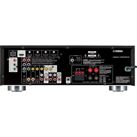 yamaha rx vbl  channel audiovideo receiver black
