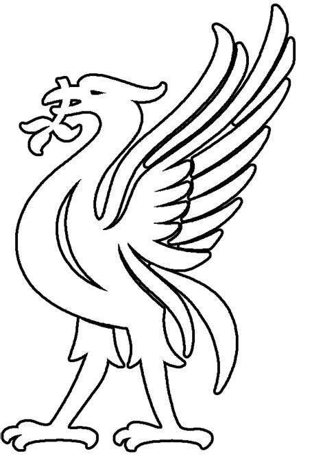 Printable Liverpool Badge Google Search T 229 Rtor Liverpool Colouring Pages