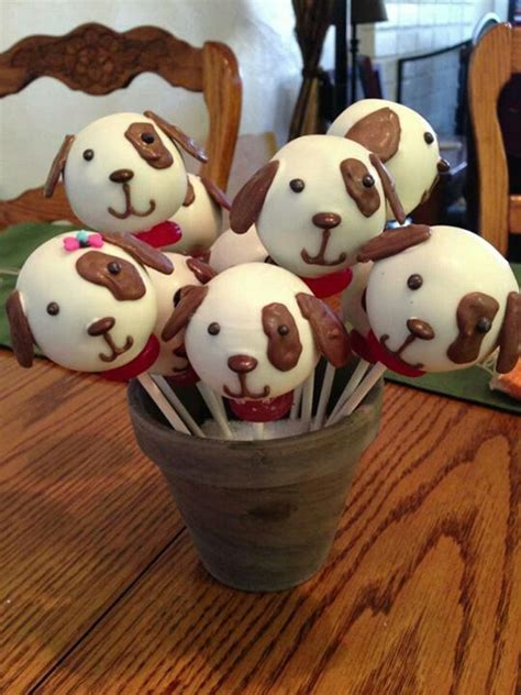 puppy pops best 25 puppy cupcakes ideas on paw print cakes easy fondant