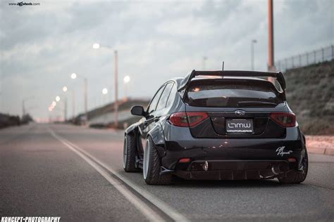 widebody subaru impreza hatchback subaru widebody wrx sti subaru cars and jdm