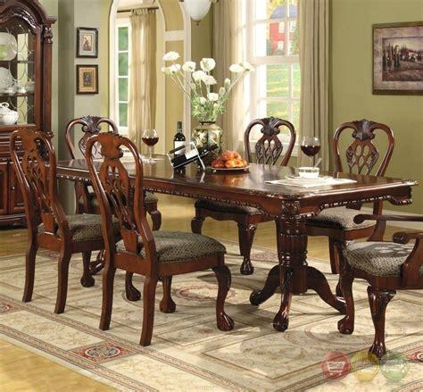 brussels formal dining room 7 piece furniture set