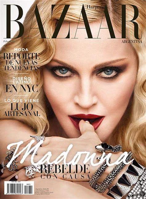 Harpers Bazaar Its Here by Madonna Covers S Bazaar Argentina Madonnaunderground