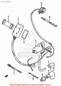 suzuki rm250 1994 r united kingdom australia e02 e04 e24 electrical schematic