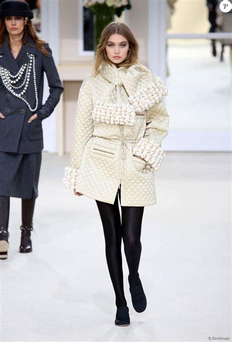 Coco Chanel 2108 gigi hadid d 233 fil 233 de mode chanel pr 234 t 224 porter automne