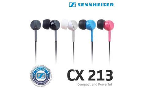 Diskon Sennheiser Cx213 Stereo Earphone Cx 213 nghe sennheiser cx213 hồng gi 225 rẻ ch 237 nh h 227 ng