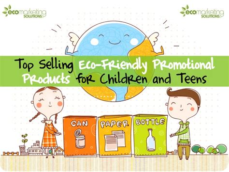 Environmentally Friendly Giveaways - top 10 most eco friendly promotional products for children and teens