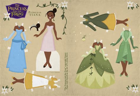 Paper Dolls Craft - interactive magazine princess paper doll by