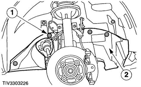 1995 mercury mystique splash shield installation how do i take the alternator off a mercury mystique 1998 v6