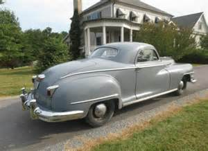 1947 chrysler windsor business coupe bring a trailer