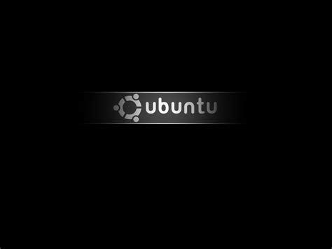 Black Ubuntu | black ubuntu wallpaper
