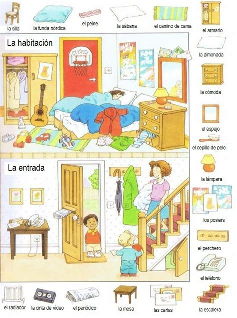 una habitacin propia spanish b01jhkcwuy la habitaci 243 n vocabulario ele