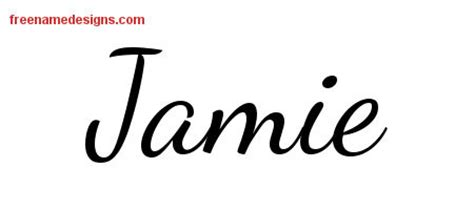 tattoo lettering for jamie jamie archives page 3 of 3 free name designs