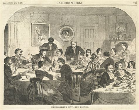 historical dinner file thanksgiving day the dinner boston library