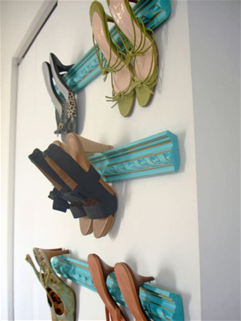 Crown Moulding Shoe Rack crown moulding shoe racks decorating with your shoes dig this design