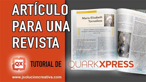 video tutorial quarkxpress v 237 deo tutorial quark xpress c 243 mo crear una p 193 gina de revista